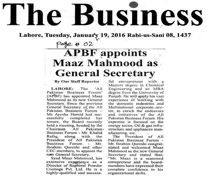 The Business 19-01-2016