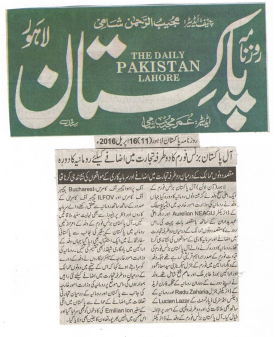 Daily Pakistan 16-04-2016