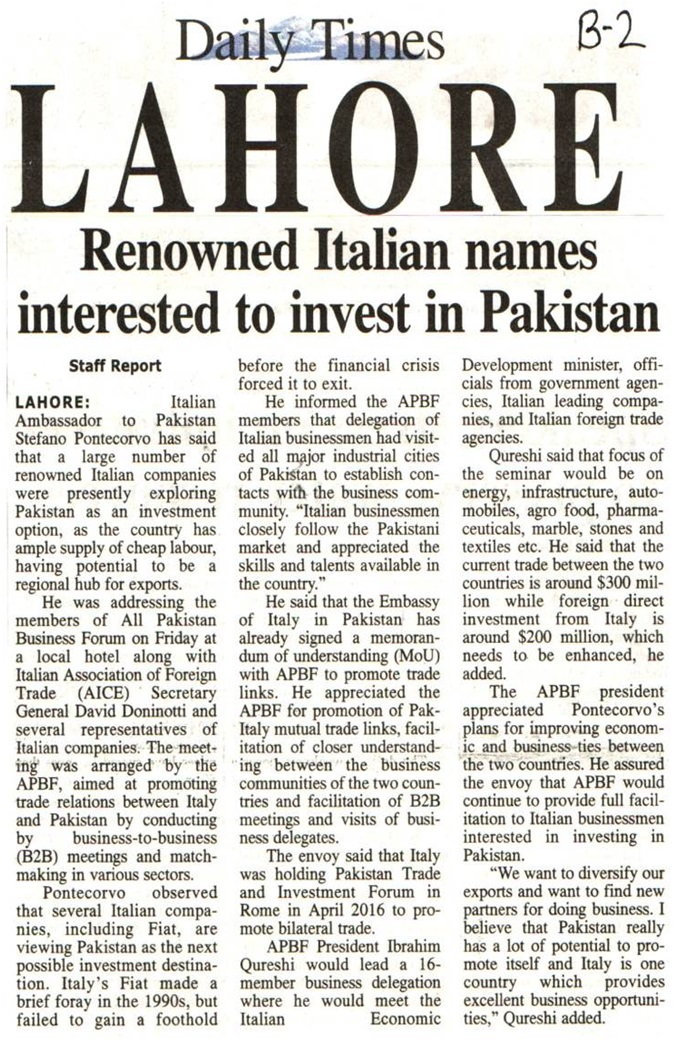Daily Times 19-03-2016