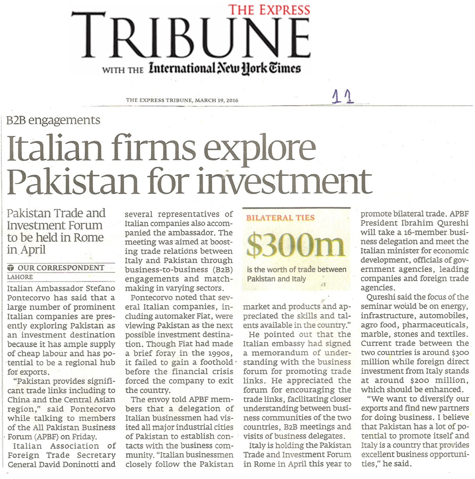 Express Tribune 19-03-2016