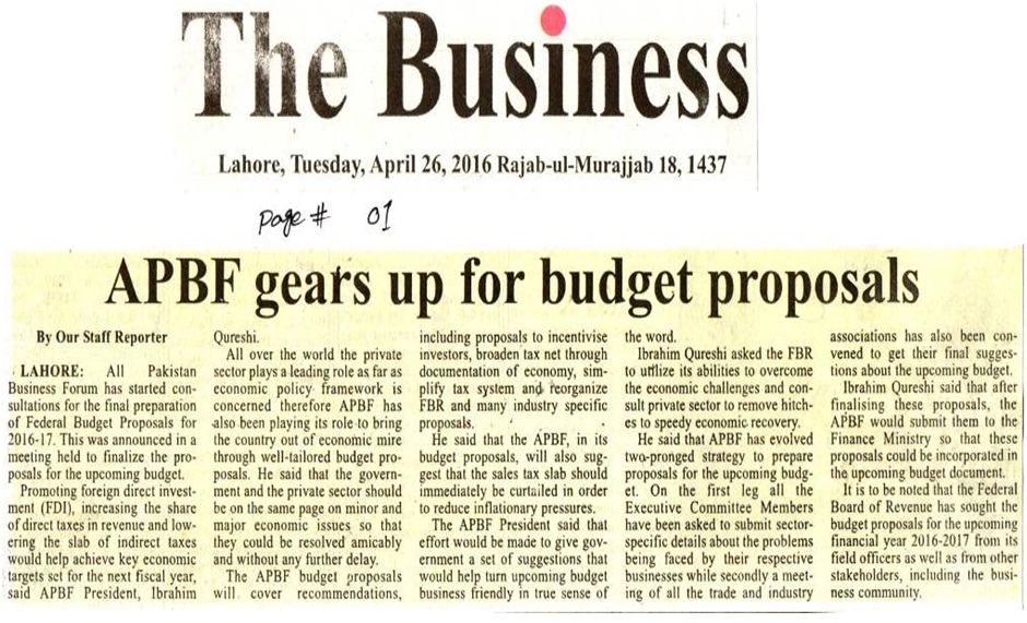 The Business 26-04-2016