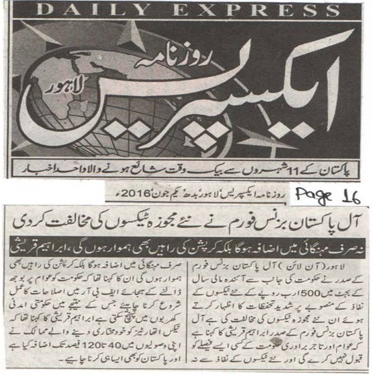 Daily Express 01-06-2016