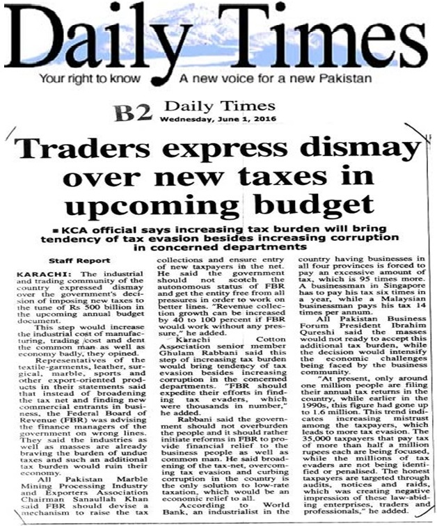 Daily Times 01-06-2016