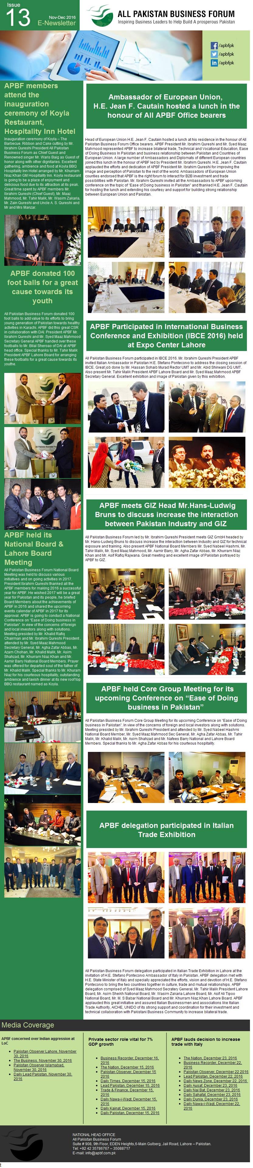 APBF E Newsletter 13