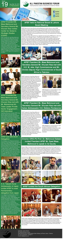 APBF E Newsletter 19